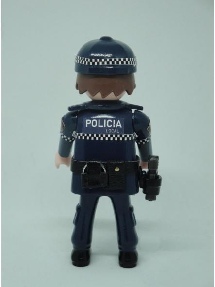 PLAYMOBIL PERSONALIZADO POLICÍA LOCAL UNIFORME MODELO COMUNIDAD VALENCIANA HOMBRE [1]