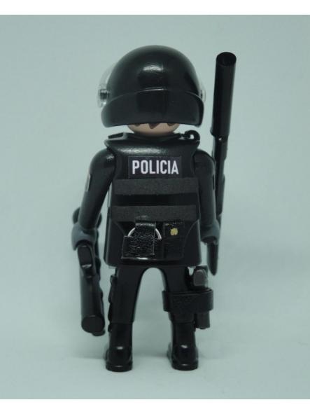 PLAYMOBIL PERSONALIZADO POLICÍA NACIONAL CNP GRUPO ESPECIAL DE OPERACIONES GEO SWAT HOMBRE [1]