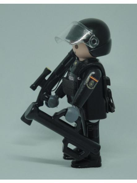 PLAYMOBIL PERSONALIZADO POLICÍA NACIONAL CNP GRUPO ESPECIAL DE OPERACIONES GEO SWAT HOMBRE [3]