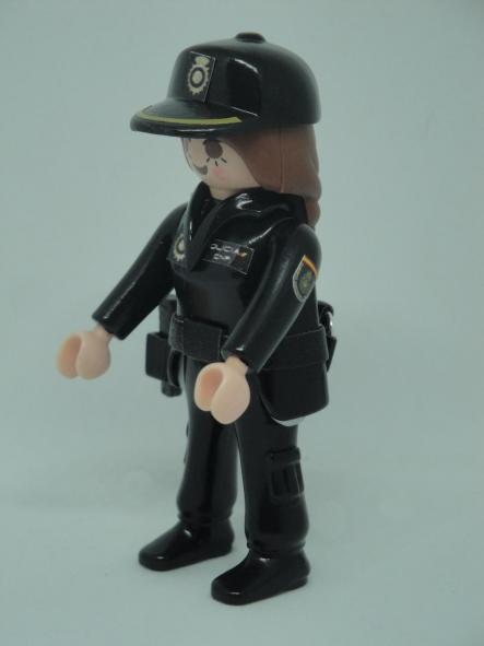 PLAYMOBIL PERSONALIZADO POLICÍA NACIONAL CNP UNIFORME SEGURIDAD CIUDADANA MUJER [2]