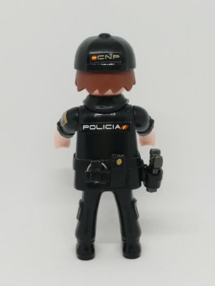PLAYMOBIL PERSONALIZADO POLICÍA NACIONAL CNP UNIFORME SEGURIDAD CIUDADANA HOMBRE [1]