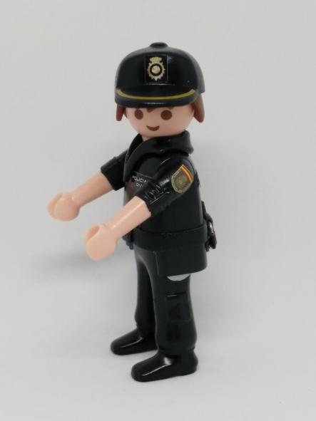 PLAYMOBIL PERSONALIZADO POLICÍA NACIONAL CNP UNIFORME SEGURIDAD CIUDADANA HOMBRE [2]