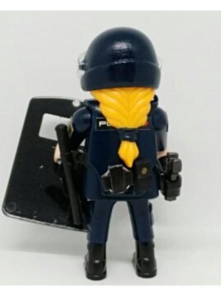 PLAYMOBIL PERSONALIZADO DE LA POLICÍA NACIONAL CNP UNIDAD DE INTERVENCIÓN POLICIAL UIP MUJER [1]