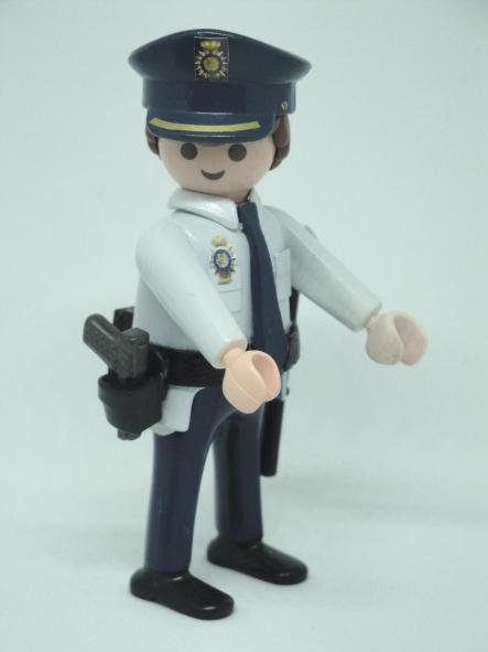 Playmobil personalizado policía nacional CNP uniforme años 90 hombre [1]