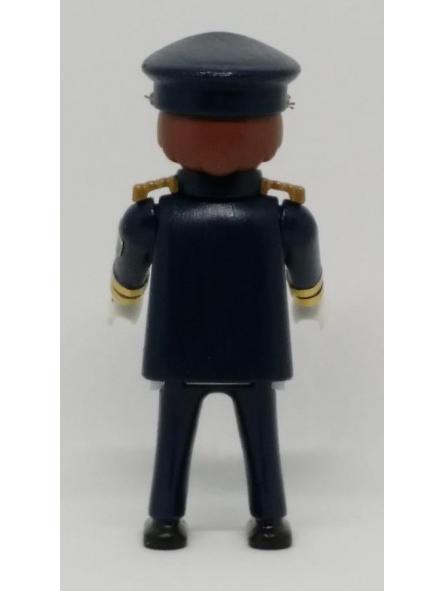 PLAYMOBIL PERSONALIZADO POLICÍA NACIONAL CNP UNIFORME GRAN GALA HOMBRE [2]