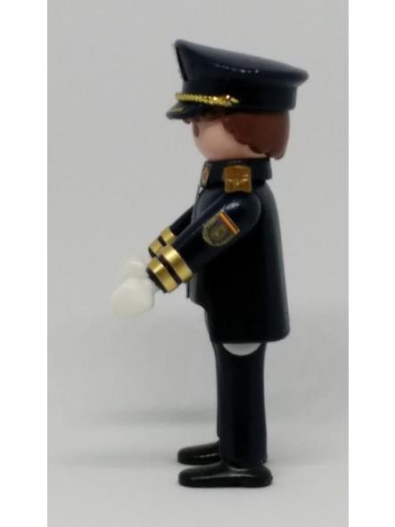 PLAYMOBIL PERSONALIZADO POLICÍA NACIONAL CNP UNIFORME GRAN GALA HOMBRE [3]