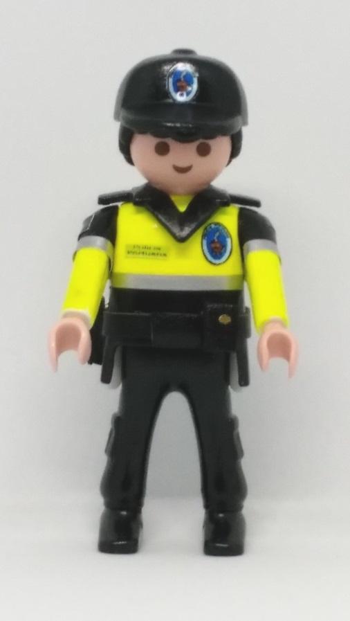 PLAYMOBIL PERSONALIZADO POLICÍA PORTUARIA DE VALENCIA HOMBRE