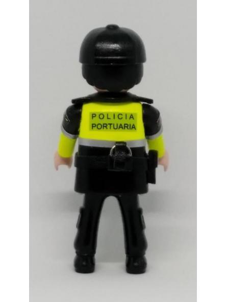 PLAYMOBIL PERSONALIZADO POLICÍA PORTUARIA DE VALENCIA HOMBRE [1]
