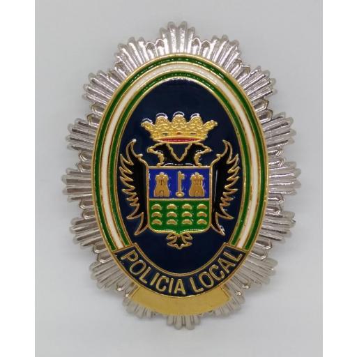 PLACA DE PECHO DE LA POLICÍA LOCAL DE PULPÍ