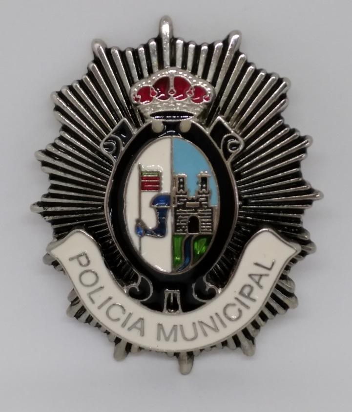 PLACA DE PECHO DE LA POLICÍA MUNICIPAL DE ZAMORA