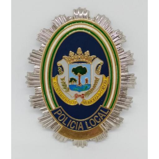 PLACA DE PECHO DE LA POLICÍA LOCAL DE VILLAVICIOSA DE CÓRDOBA