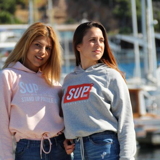 HOODIE CORTA COLLECTION ROSA [2]