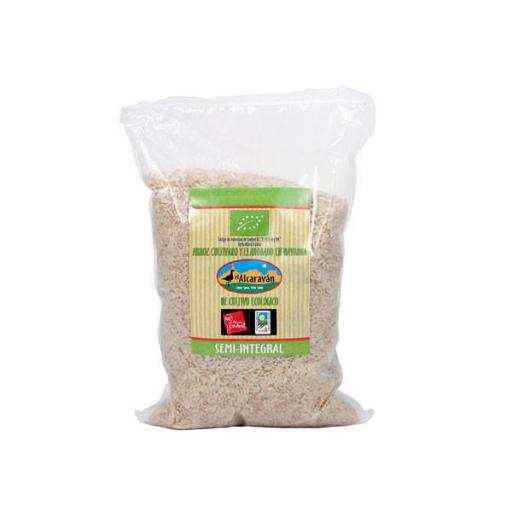 ARROZ SEMI-INTEGRAL SEMILARGO NAVARRA 1KG.