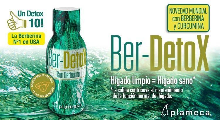 BER-DETOX con berberina 250 ml, PLAMECA