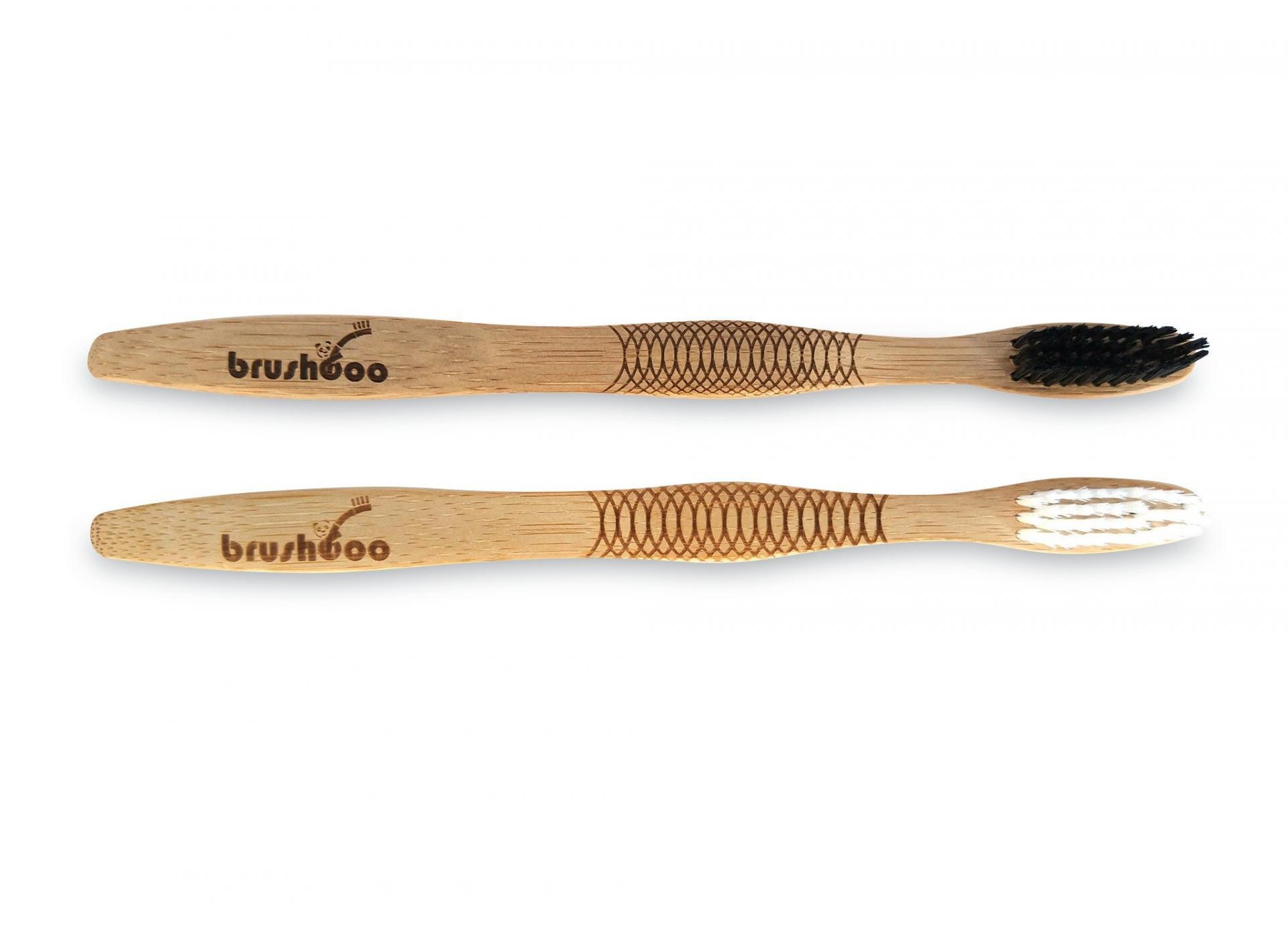 Pack premium Brushboo - El cepillo de dientes de bambú natural y ecológico