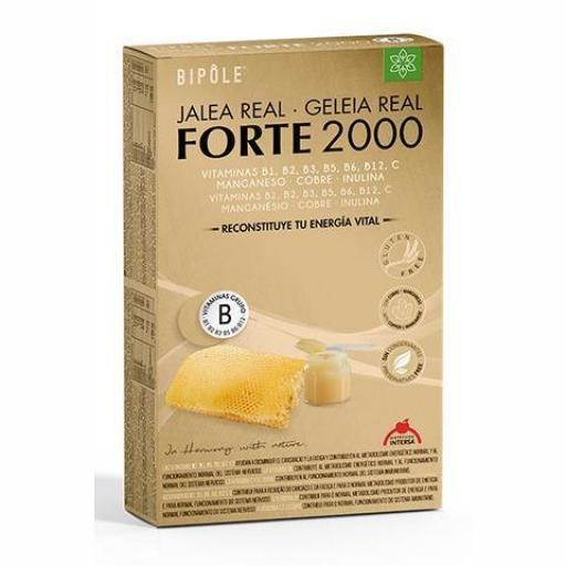 Jalea Real Forte 2000 - 20 Ampollas.