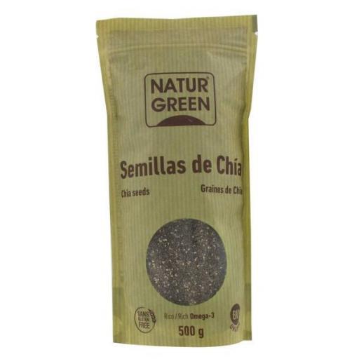 SEMILLAS DE CHIA 500 GR.
