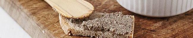 Paté vegano de champiñones y nueces: receta exprés