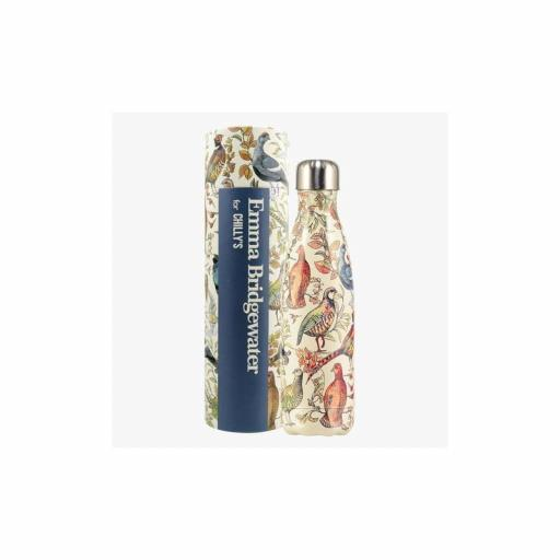 BOTELLA TERMO CHILLY EMMA BRIDGEWATER PAJAROS 500ML.