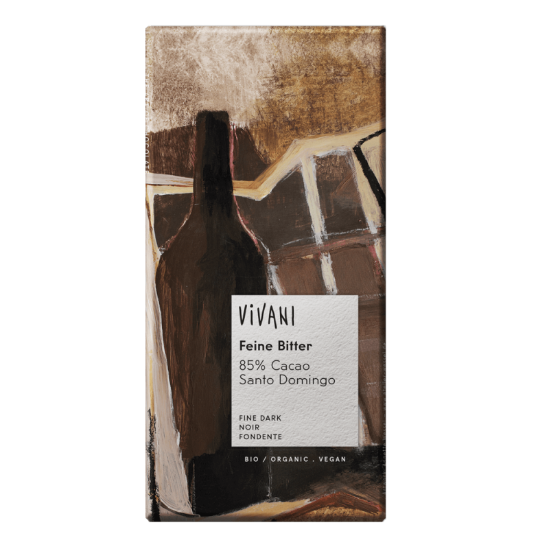 Chocolate 85% Cacao Ecológico Vivani 100g