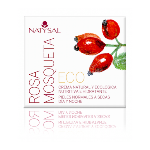 CREMA FACIAL ROSA MOSQUETA ECO , 50 ML , NATYSAL
