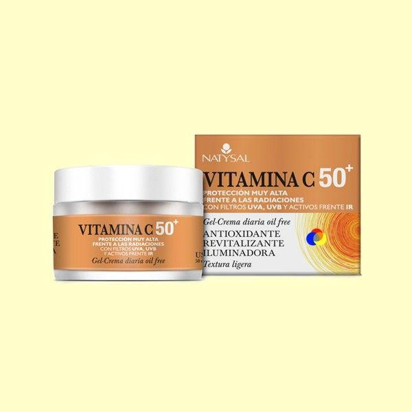 CREMA VITAMINA C 50+ 50 ML.