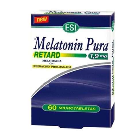 Melatonin Pura Retard 1,9 mg, 60 microtabletas