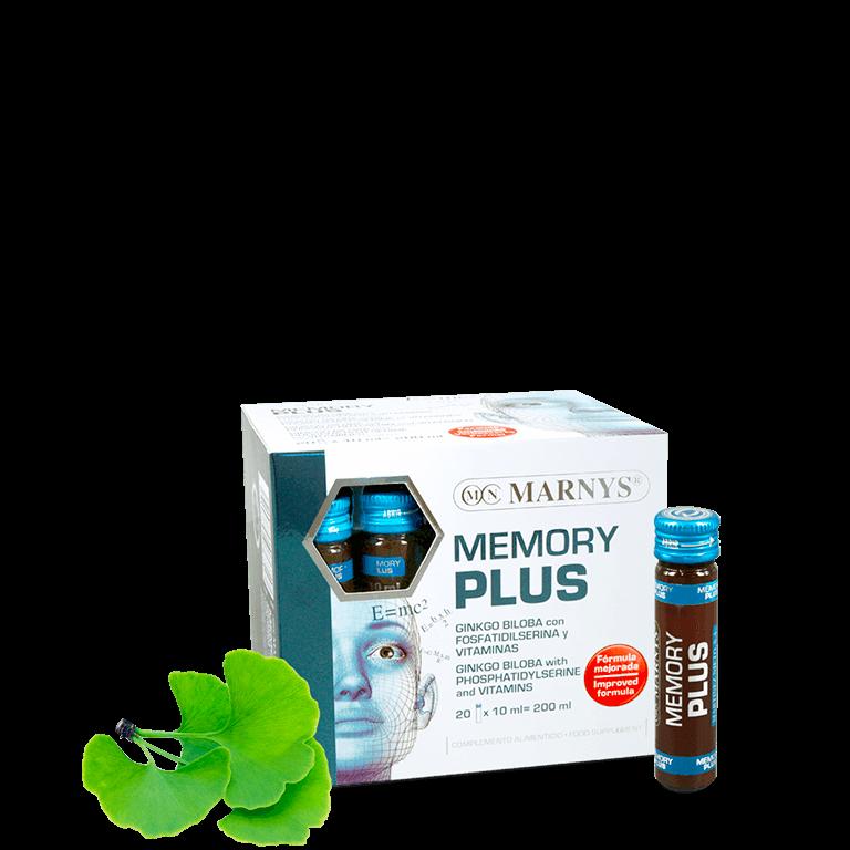 MEMORY PLUS 20 AMPOLLAS