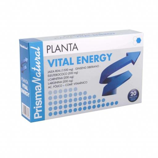 PLANTA VITAL ENERGY 20 AMPOLLAS X10 ML