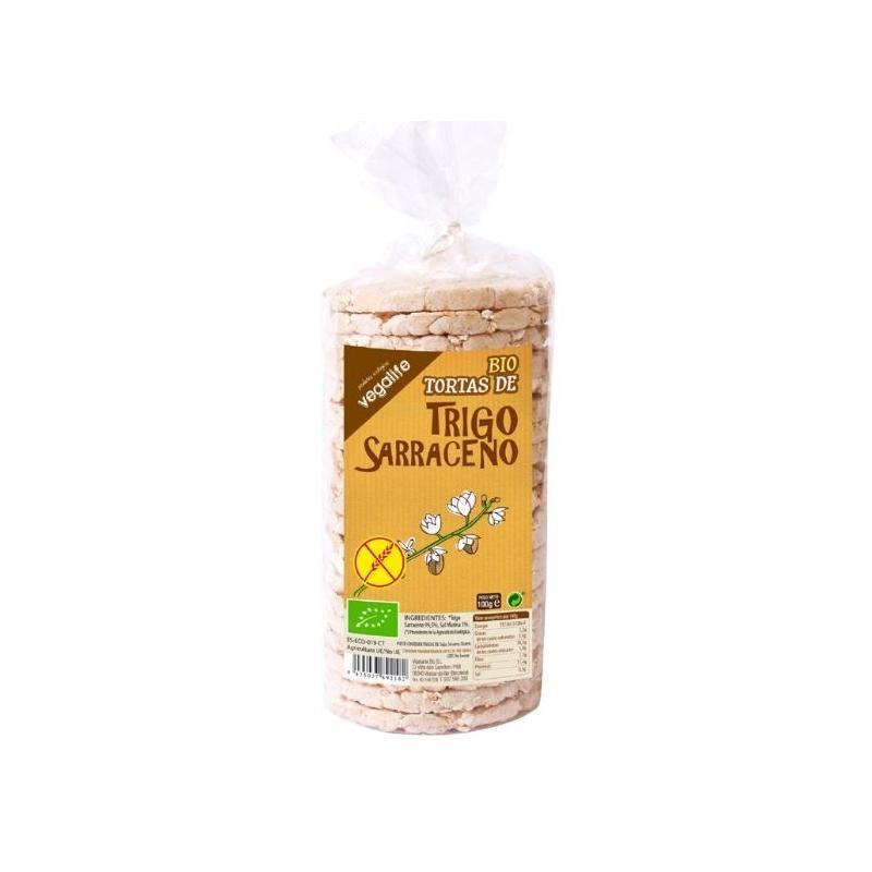 TORTITAS DE TRIGO SARRACENO 100 GR.