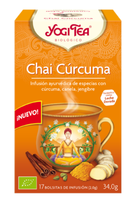 YOGI TEA CHAI CURCUMA 17 SOBRES