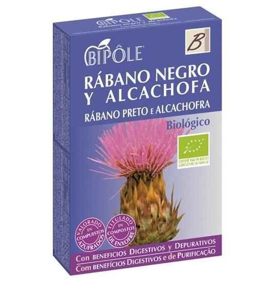 RABANO NEGRO Y ALCACHOFA BIPOLE 20 AMP.