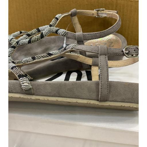 Sandalia abigail gris [0]