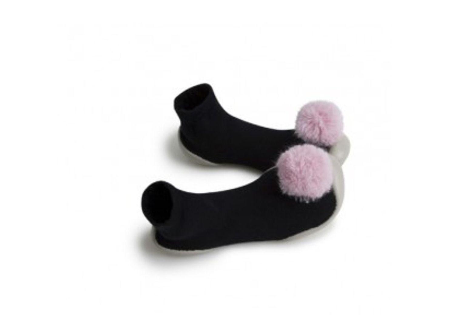 Zapatillas para estar en casa -POMPOM ROSA