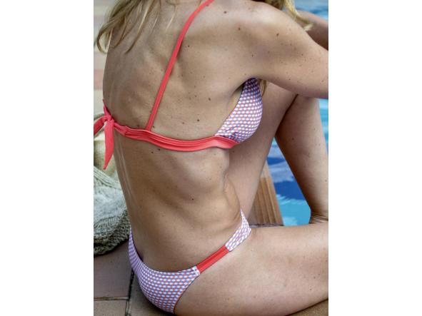 Bikini María 215 Azul-Coral GEOMETRICO [1]