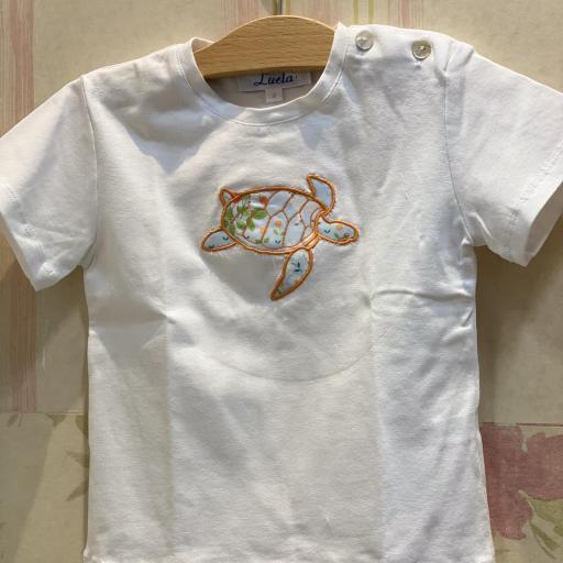 Camiseta granja tortuga