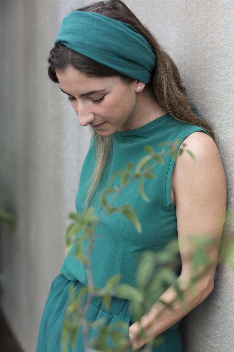 Chaleco Punto Verde