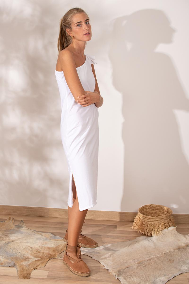 Vestido Laguna blanco
