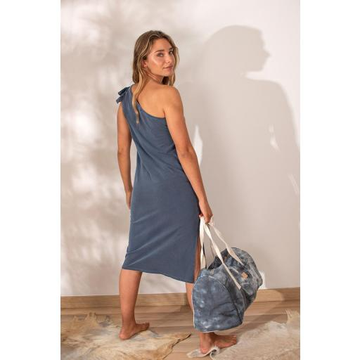 Vestido laguna azul lavado [1]
