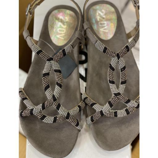 Sandalia abigail gris [1]