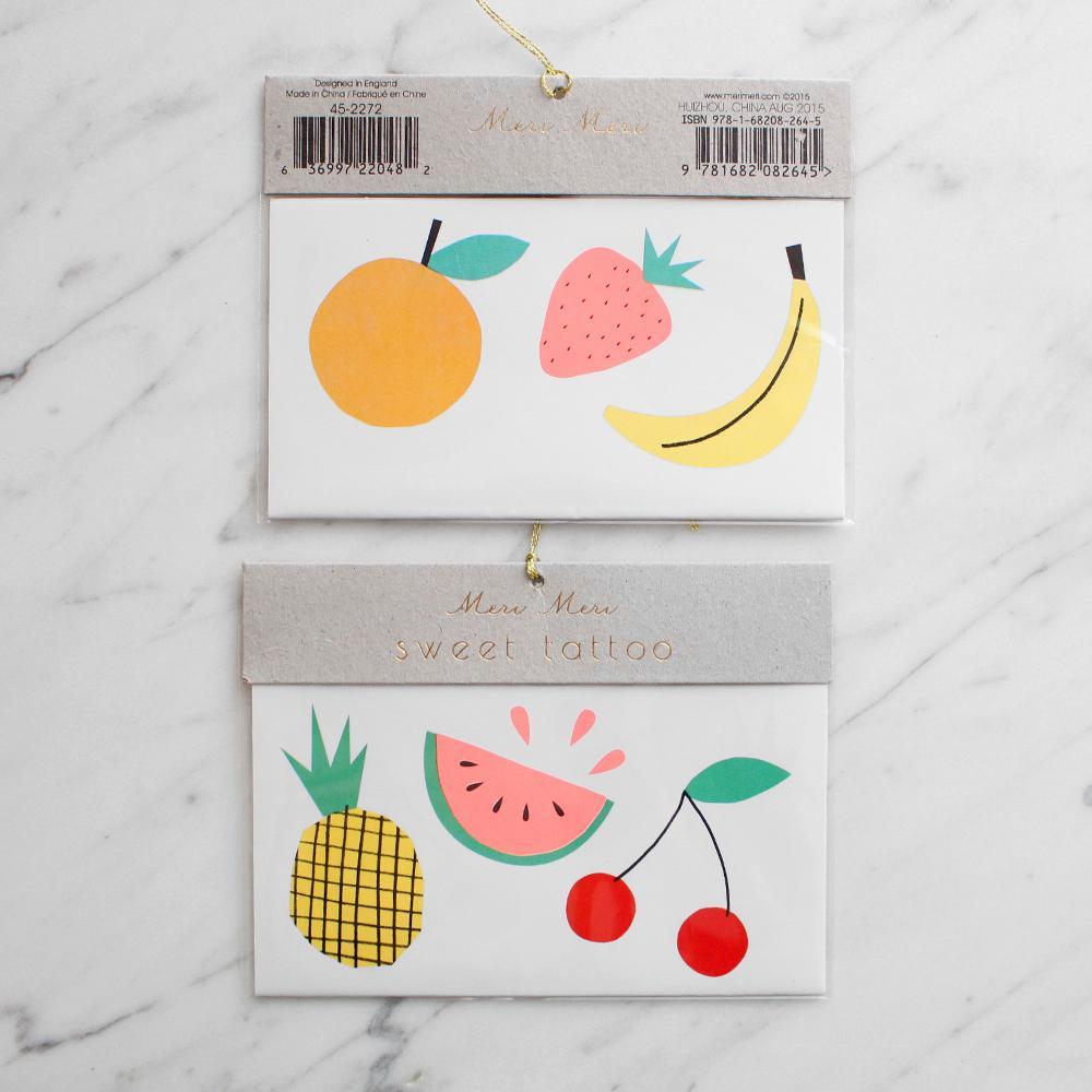 Tatoo frutas
