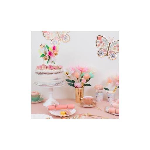 Topper Bouquet flores para tartas [1]
