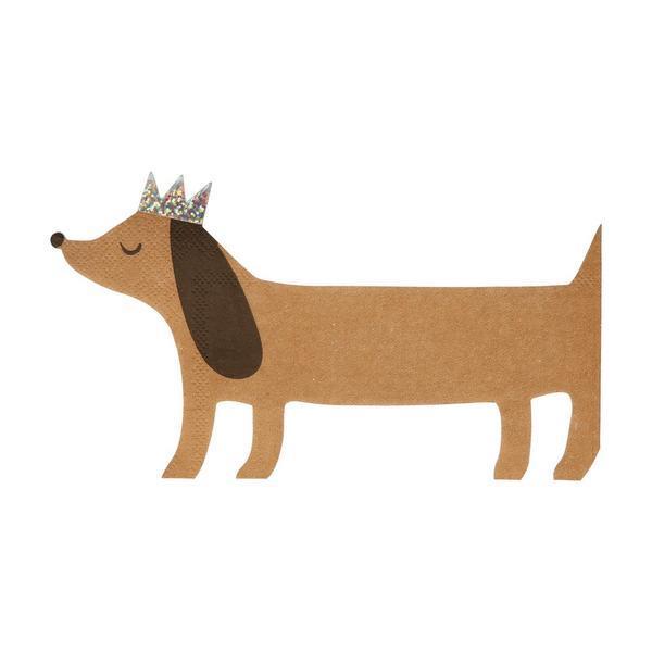 Servilletas perro