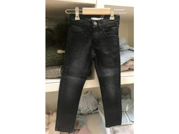 PANTALÓN DENIM LARGO GRIS MARENGO