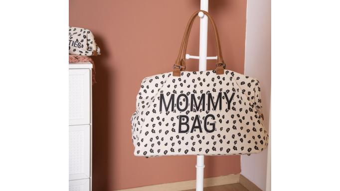 Mommy bag nursery leopardo [3]