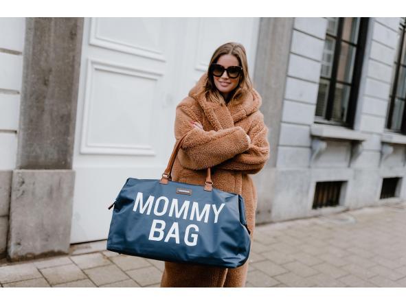 Mommy Bag Nursery Bag - Azul marino y blanca [1]
