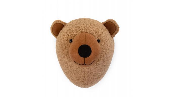 Decoración pared-cabeza de oso