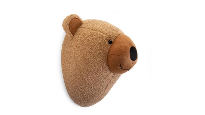 Decoración pared-cabeza de oso [1]