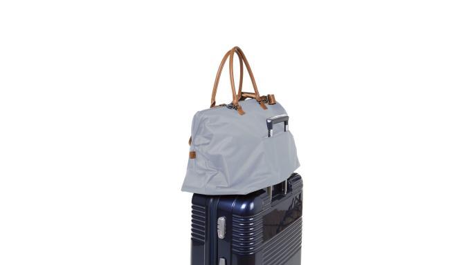 Mommy bag gris y blanco [1]