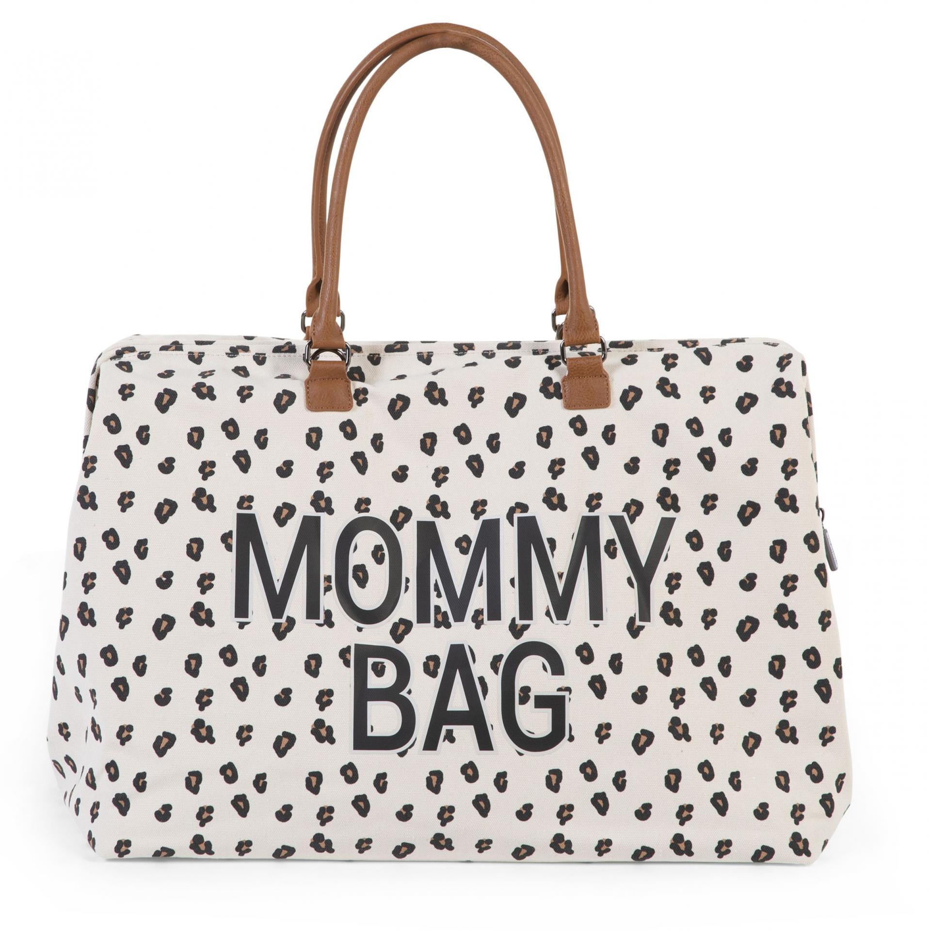 Mommy bag nursery leopardo